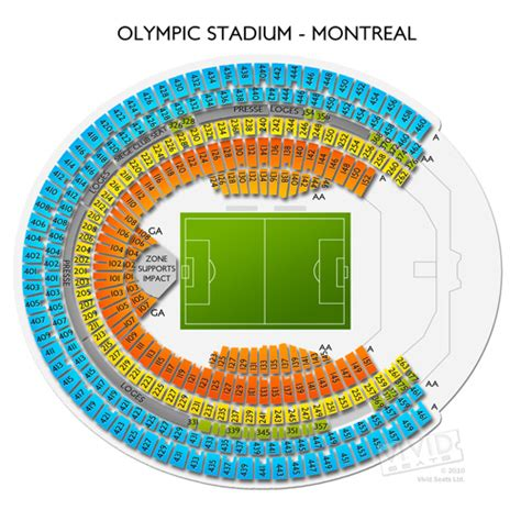 olympic stadium montreal seating olympic stadium montreal tickets olympic stadium