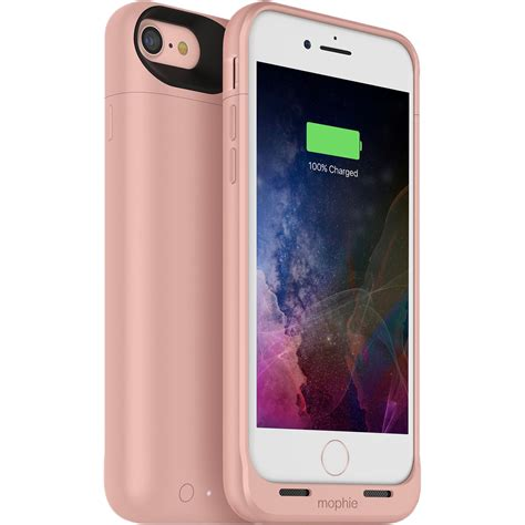 mophie juice pack air for iphone 7 gold 3782 b h photo