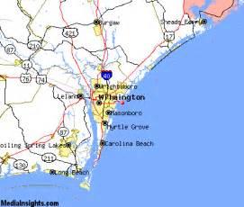 wrightsville carolina map