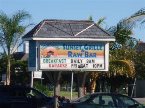 fishbones sunset grille raw bar order  menu reviews kitty hawk
