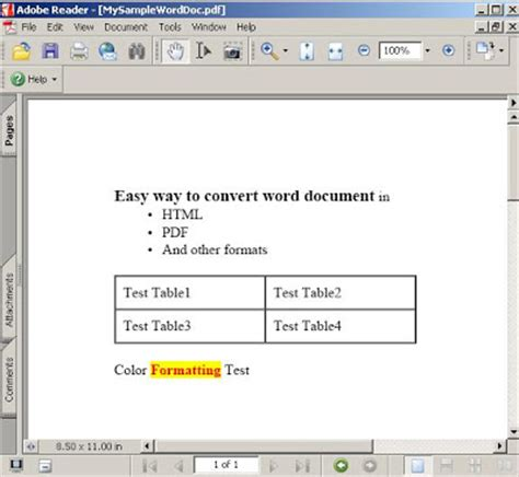 convert word document to template convert word document to html pdf and other formats