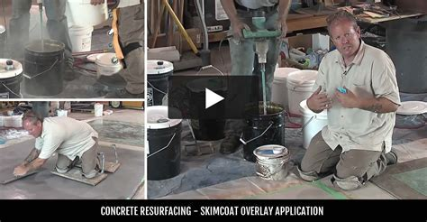 Resurfacing Concrete   Resurfacing with Concrete Coatings