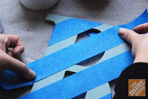 decorate wooden letters on