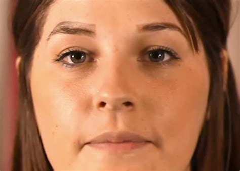 tattoo eyebrows wrong woman has four eyebrows after brow tattoos go wrong