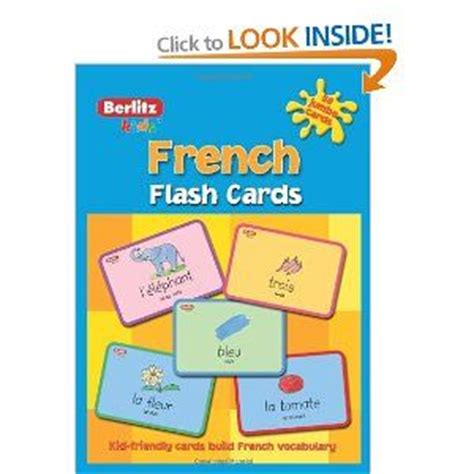 berlitz language spanish flash 1780044658 best 25 french flashcards ideas on french lessons for beginners french for