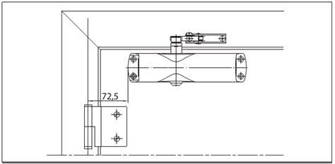 Door Closer Geze Ts 1000 Silver g 137456 geze ts1000 c silver inc universal arm and pa bracket