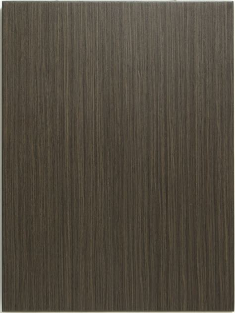 Reconstituted Veneer Charcoal Ash Allstyle Cabinet Door
