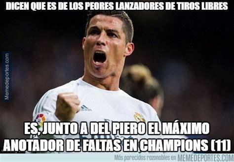 Memes De Ronaldo - cristiano protagoniza los memes de la remontada del real