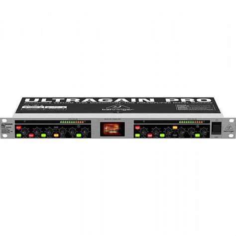 Ultragain Pro Mic2200 behringer ultragain pro mic2200 audiophile vacuum microphone line pre ebay