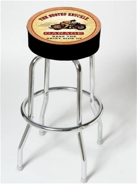Garage Bar Stools by Busted Knuckle Garage Motorcycle Shop Stool Modern Bar