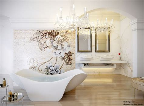 Luxurious Bathtub by Ultra Luxury Bathroom Inspiration