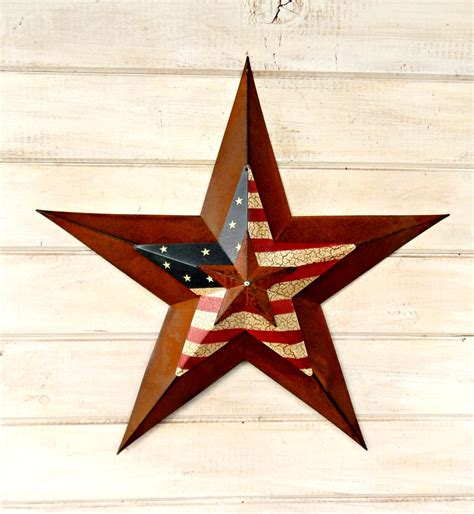 rustic star home decor star home decor star wall hanging primitve american barn