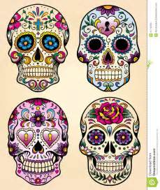marilyn monroe day of the dead tattoo day of the dead vector illustration set royalty free stock photos image 31718758