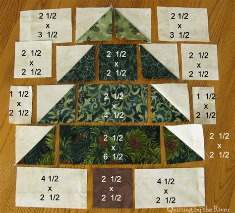 christmas tree pattern block template christmas tree runner tutorial freemotion by the river