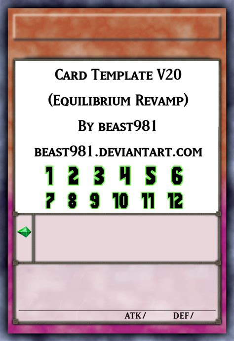 yu gi oh card template photoshop yu gi oh equilibrium template perfected by graysogoodwn