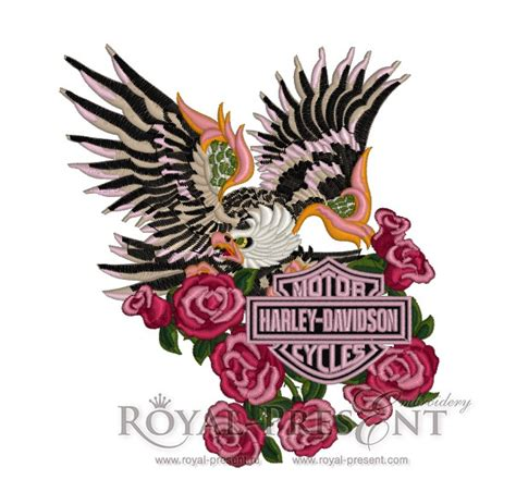embroidery design harley davidson harley davidson logo machine embroidery design harley