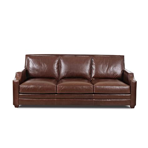 leather sofa discount comfort design clp5015 10 s carrolton leather sofa