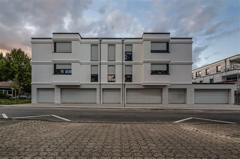 2017 Moers Kapellen Mehrfamilienhaus Architektur