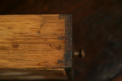 drawer lock joint vs dovetail dovetails a clue for dating antiques the harp gallery