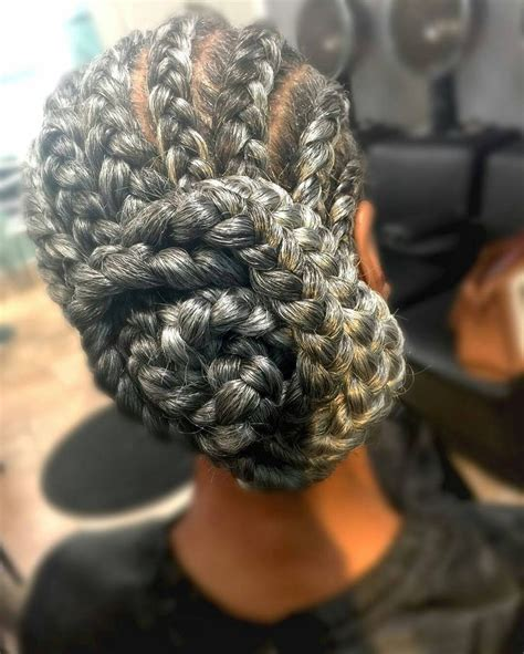 gray hair braided styles 100 best silver sexy images on pinterest going gray