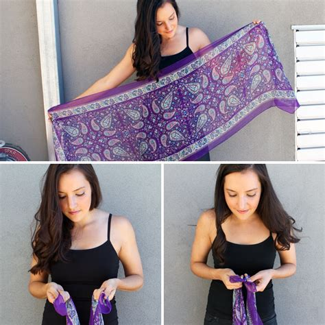 10 ways to turn a scarf into a vest brit co sewing