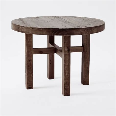 Registry Roundup The Table Is Flat by Emmerson 174 Reclaimed Wood Dining Table West Elm