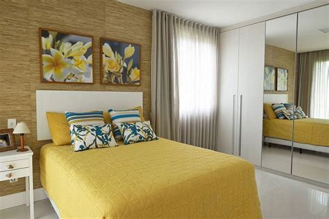 modern yellow bedroom beach house reinventing the nautical theme with