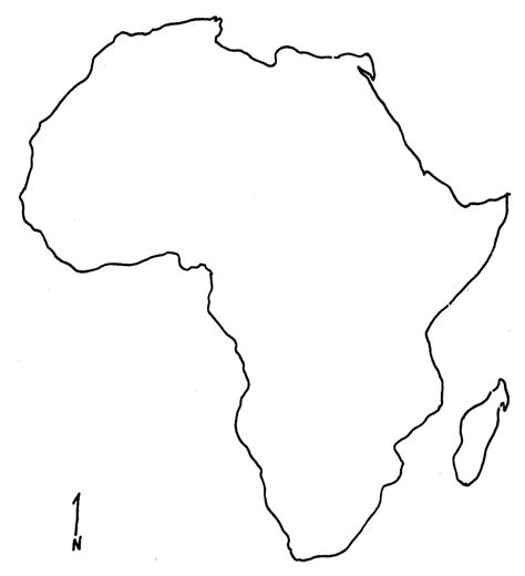 africa map blank blank map of africa coloring pages