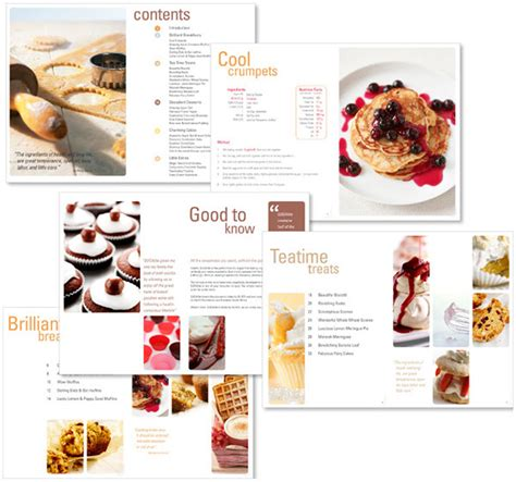 recipe book layout design recipe book re design on behance