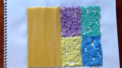 imagenes visuales tactiles c 243 mo hacer un collage de diferentes texturas youtube
