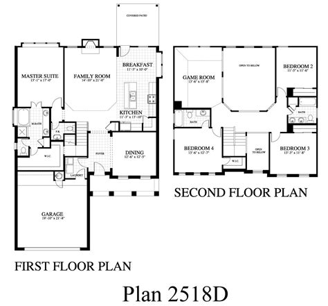 plan 2518d saratoga homes