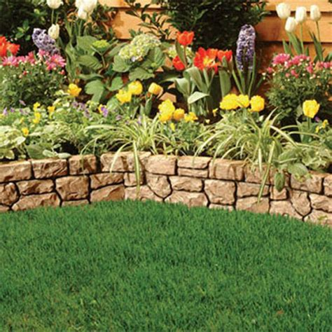 Garden Borders And Edging Ideas Landscape Edging Ideas Tufudy