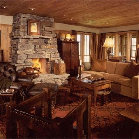 rustic family room rustic family room addition ideas spaces pinterest