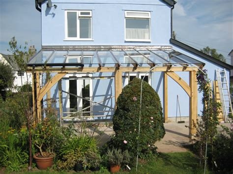 glass lean to roof kit traditional oak timber frame manufacture