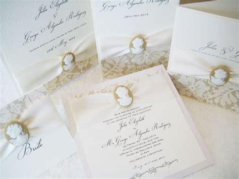 cameo wedding invitations cameo wedding invitations designs