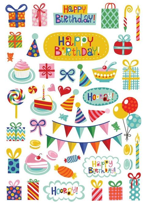 printable stickers for birthday happy birthday stickers by helen dardik petit monkey