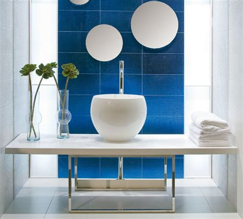 navy bathroom tiles 5 techniques to use blue color in bathroom tile design ftd company san jose