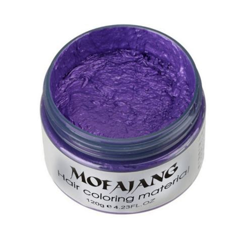 Hair Style Wax by Hair Color Wax Dye Unisex Molding Paste Hair Style Styling
