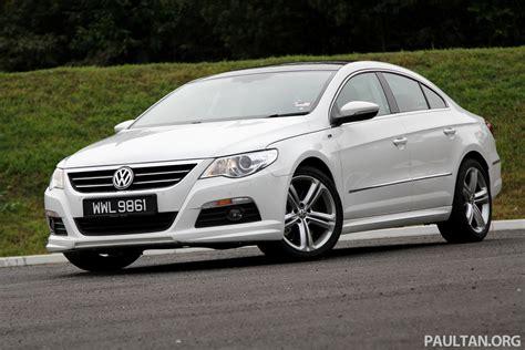volkswagen passat r line volkswagen passat cc r line 3 6l test drive review