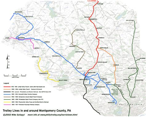 montgomery county pa map with cities bnhspine com