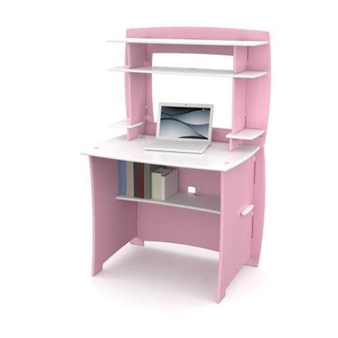 Kids Desk With Hutch Computer Desks For Kids Pink Desk