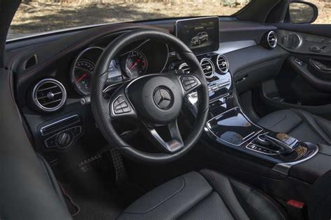 mercedes jeep 2016 interior 2017 mercedes amg glc43 packs 362 twin turbocharged