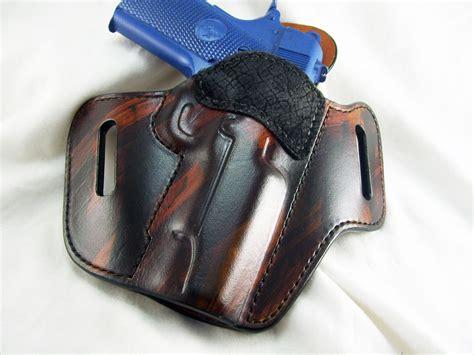 Handmade Leather Pistol Holsters - premium and gun holsters hopp custom leather