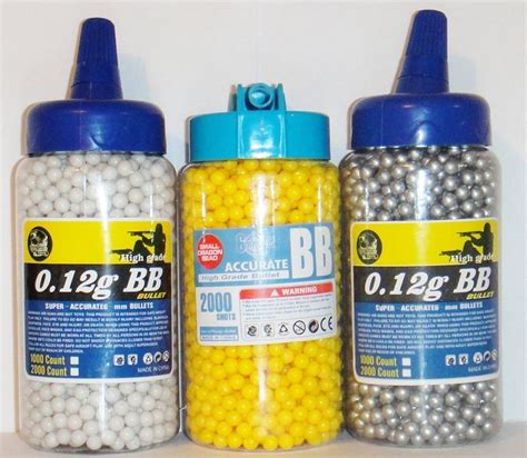 Bb Bullet high grade bb gun pellets bullets ammo 6mm 0 12g airsoft speed loading metallic ebay