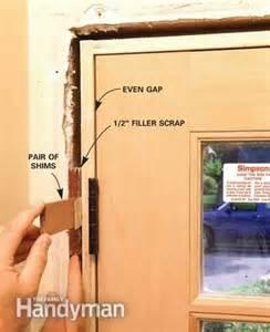 Replace Door Jamb Exterior How To Replace An Exterior Door The Family Handyman