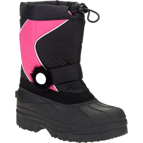 walmart winter boots tornesi black winter snow boots shoes walmart