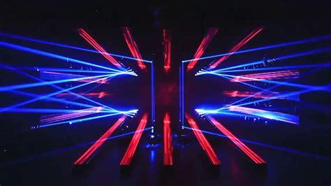3d light show china first naked eye 3d lighting art show youtube
