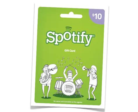 Can You Use Itunes Gift Cards For Spotify - spotify chases mass market exposure with gift cards at target venturebeat media
