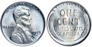 How Much Is A 1943 Silver Wheat Penny Worth by 1943 Lincoln Cents The Value Of Steel Vs Copper Pennies