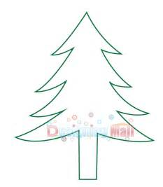 best photos of pattern christmas tree outline christmas